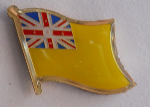 Niue Country Flag Enamel Pin Badge